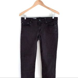 GAP Black Jeans   Size 28   Real Straight
